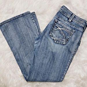 ~Silver Jeans~ sz 32x30 - Suki